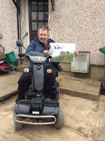 Rollo hopes to put fundraising in the picture for Parkinson's UK
