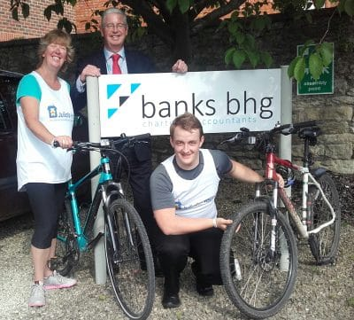 Banks BHG team are riding high with their fundraising