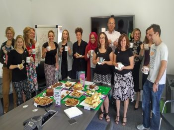 Word Worker PR - RTS Group's Macmillan coffee morning