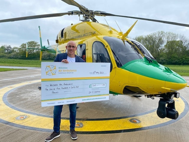 Recruiters flying high with charity donation